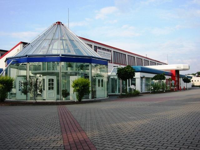 Glaspavillion der Metallkonzept GmbH & Co. KG