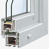 Fenster Innova Comfort Querschnitt