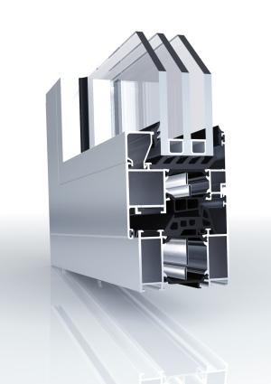 Aluminium Fenster Querschnitt