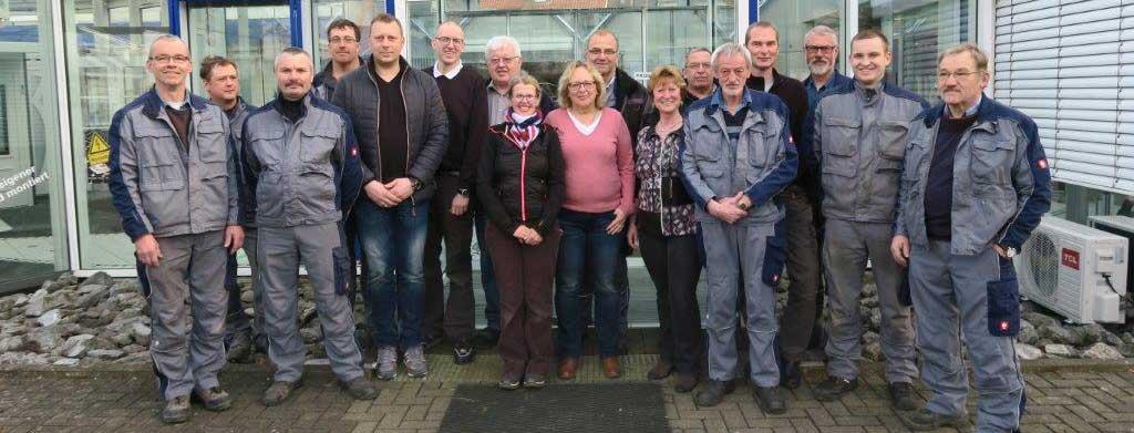 Mitarbeiter der Mtallkonzept GmbH & Co. KG