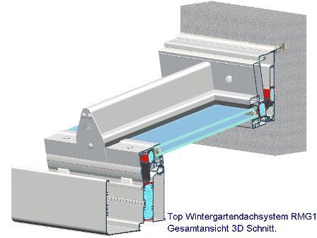 Wintergarten Detail 3D