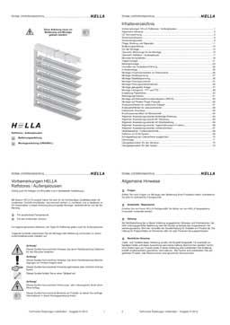 Raffstoren Hella PDF-Vorschau